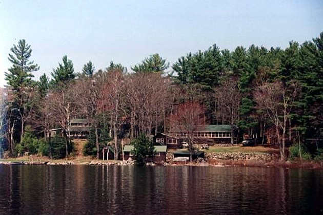 Porter Point Camps seen from Nicatous Lake