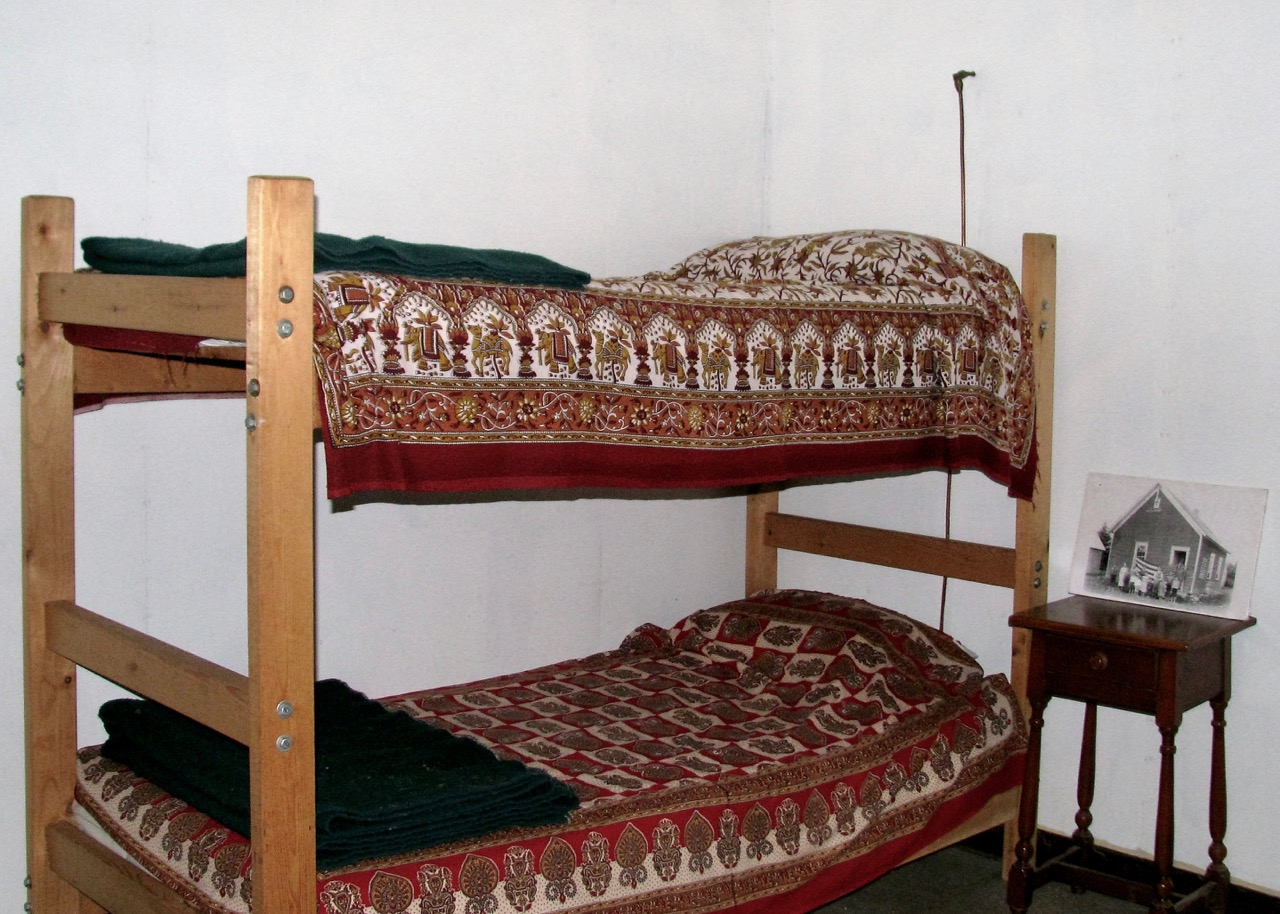 Bunk beds in the North Housekeeping Lodge