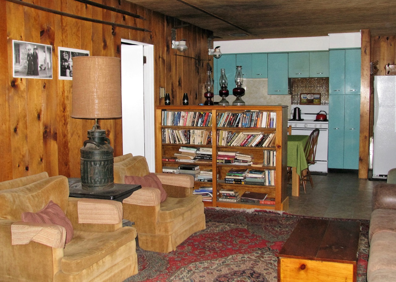 Living room in the North Housekeeping Lodge