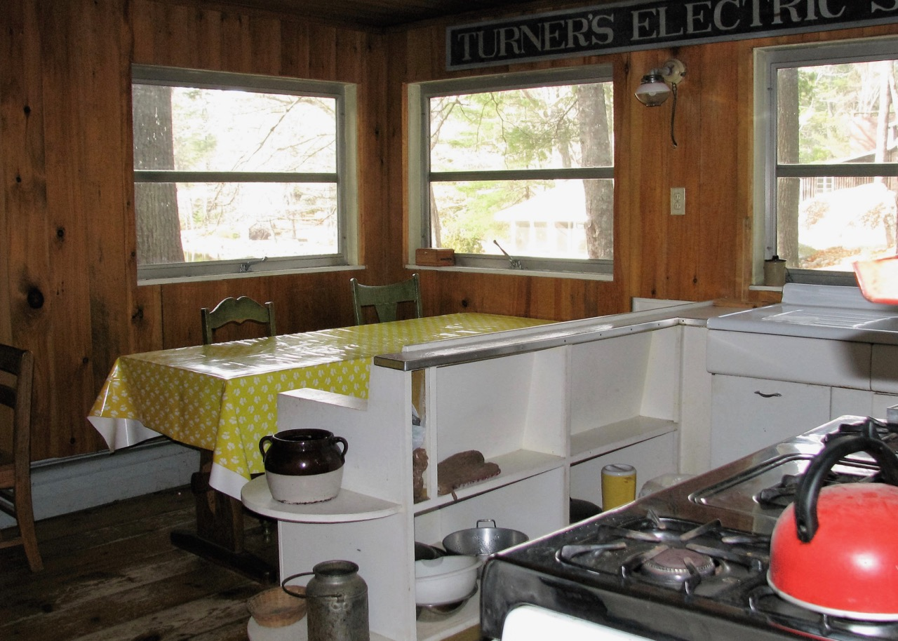 The kitchen in Uncle Tom's Camp